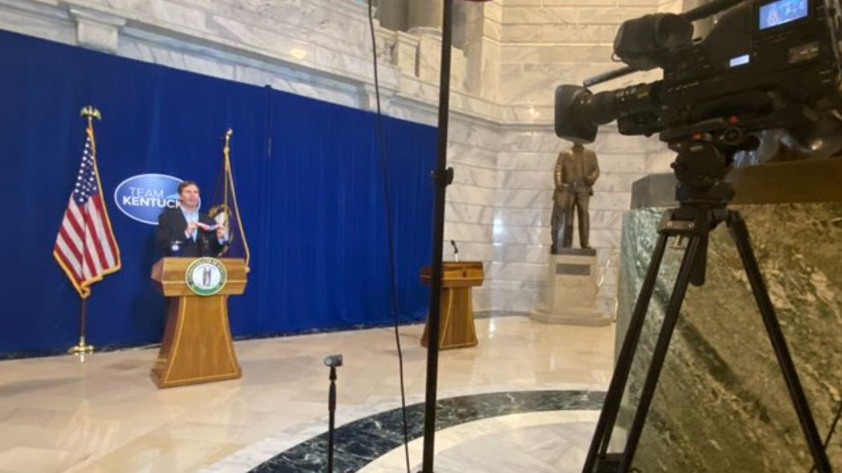 Gov. Andy Beshear gives update on COVID-19