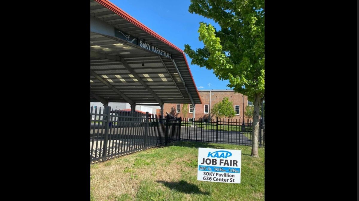 KAAP job fair at SOKY marketplace pavilion