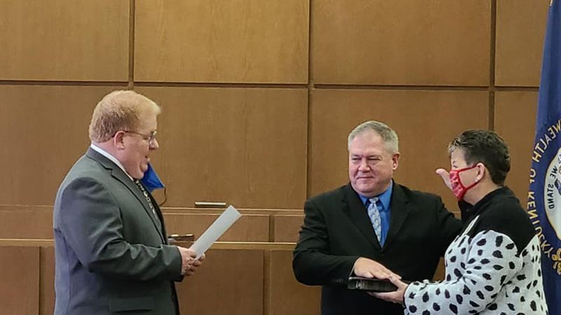 Representing the 22nd District, Shawn McPherson has been officially sworn in as State...