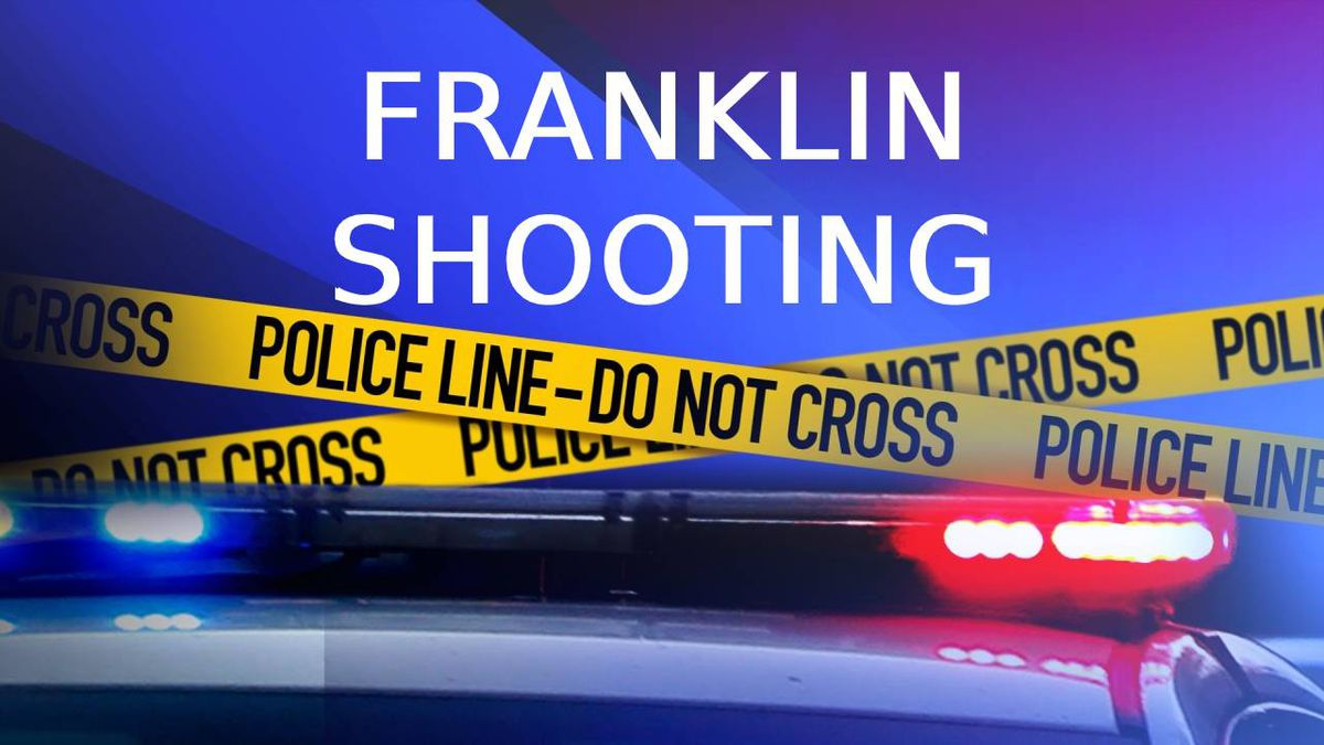 The Franklin Police Department believe the shooting was a murder-suicide.