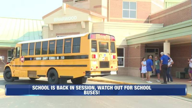 School is Back in Session, Watch Out for School Busses