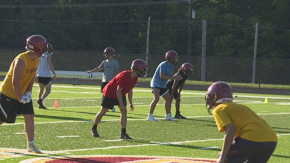 The Barren County Trojans begin practice for the 2020 season.