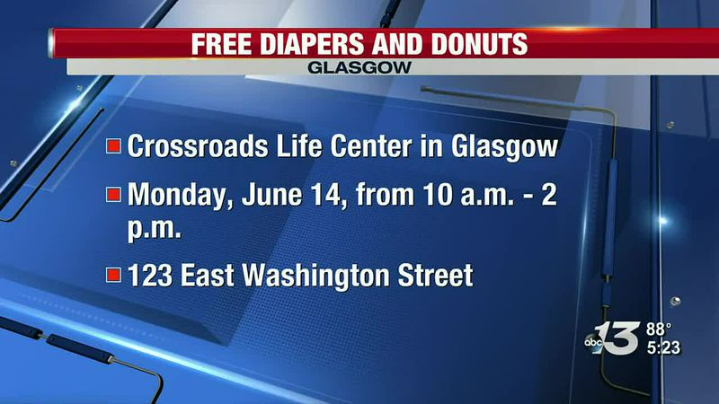 Free Diapers and Donuts