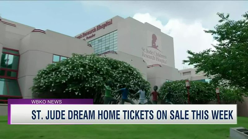 St Jude Dream Home Tickets on sale this week