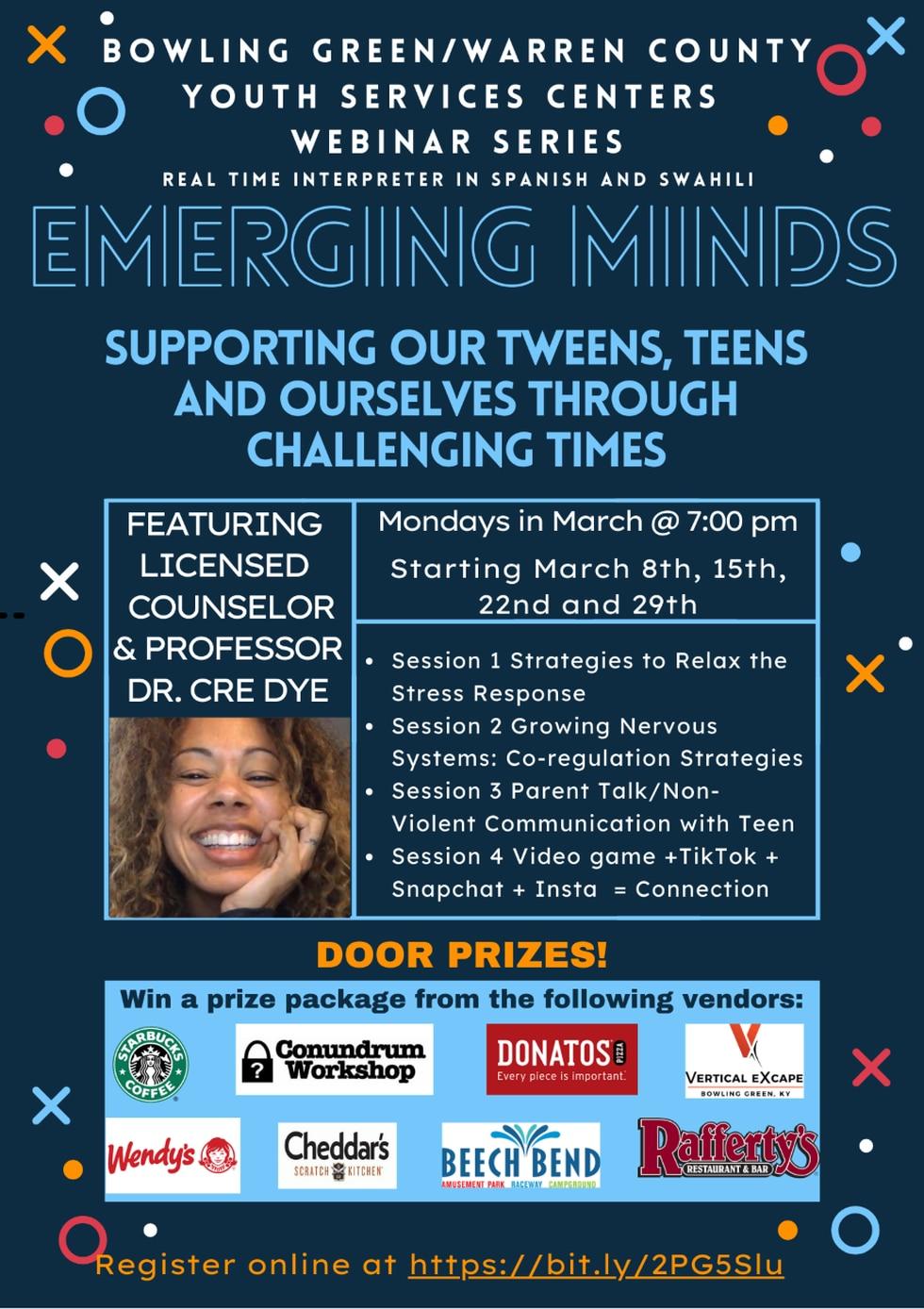 """Emerging Minds"" webinar helps tweens and teens with mental health issues."