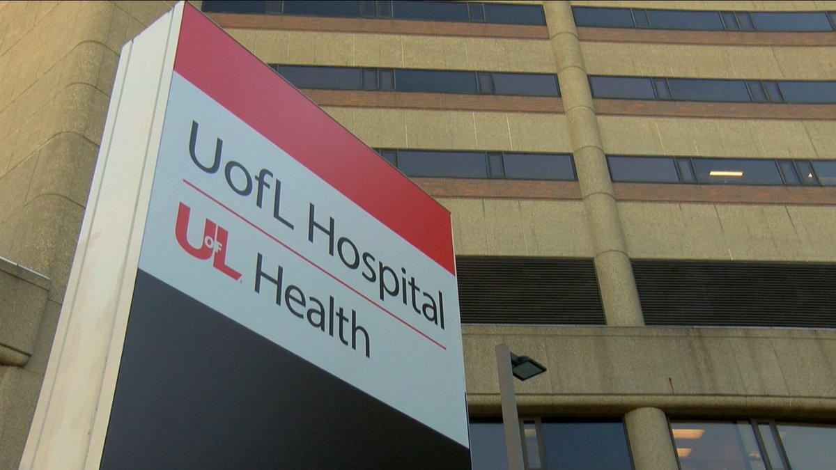 UofL Health Chief Medical Officer is hopeful the hospital system can begin to see a peak or...