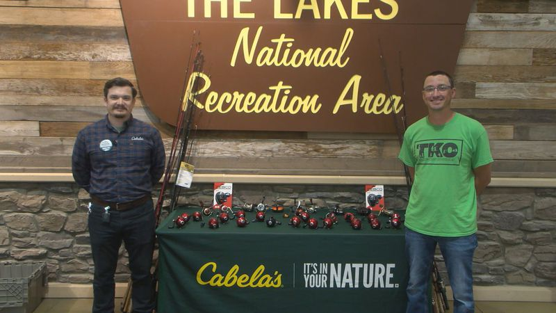 'Gone Fishing' movement kicks off with National Donation Day at Cabela's in Bowling Green